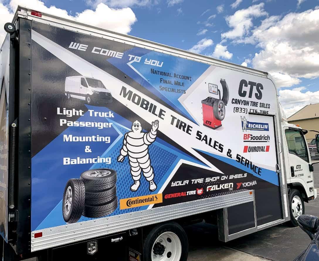 CTS Box Service Truck