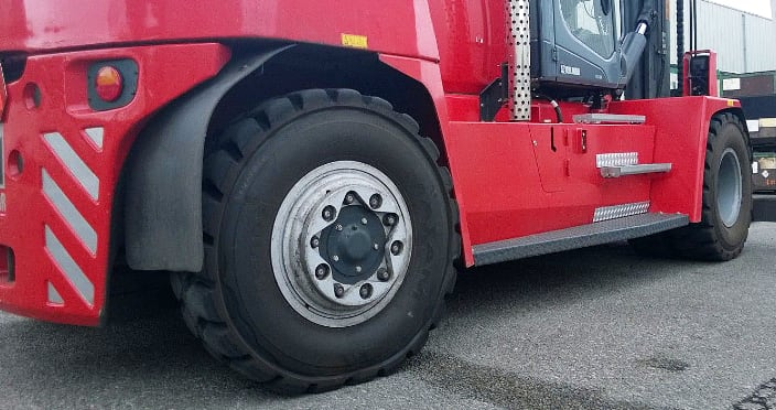 CTS Industrial Heavy Duty Forklift Tires