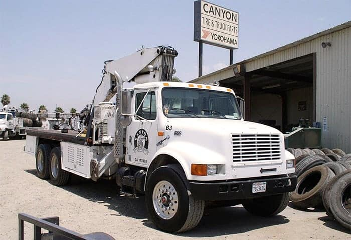 Learn More About Canyon Tire Sales First Boom Truck