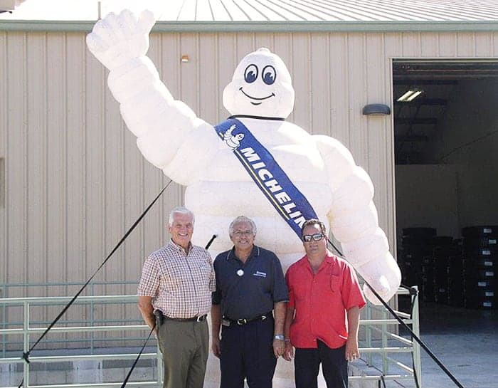 Canyon Tire Sales Michelin Retread Plant Grand Opening